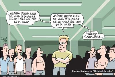"""""""club-de-la-pelea"""" por Daniel Paz"""