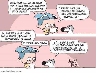 """""""mariano-moreno"""" por Daniel Paz"""