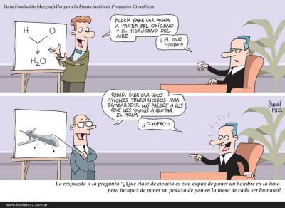 """""""quien-financia-la-ciencia"""" por Daniel Paz"""