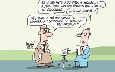 """""""radar"""" por Daniel Paz"""
