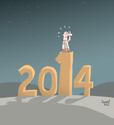 """""""2014"""" por Daniel Paz"""