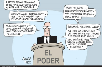 """el-poder"" por Daniel Paz"