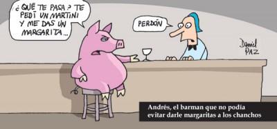 """""""el-barman"""" por Daniel Paz"""
