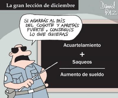 """leccion"" por Daniel Paz"