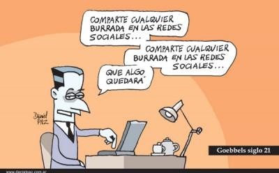 """goebbels-siglo-21"" por Daniel Paz"