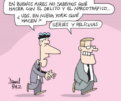 """""""series y peliculas"""" por Daniel Paz"""