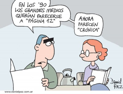 """""""cronica"""" por Daniel Paz"""
