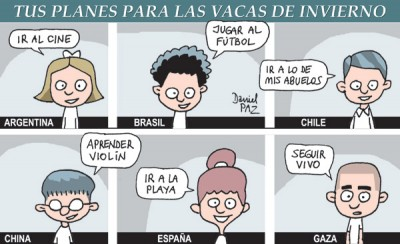 """gaza"" por Daniel Paz"