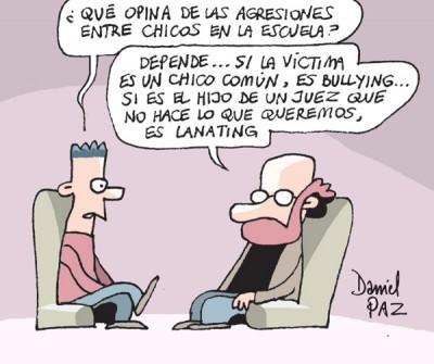 """lanating"" por Daniel Paz"