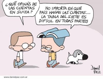 """""""cuentas-suizas"""" `por Daniel Paz"""
