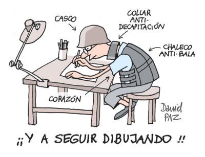 """""""despues-de-charlie-hebdo"""" por Daniel Paz"""