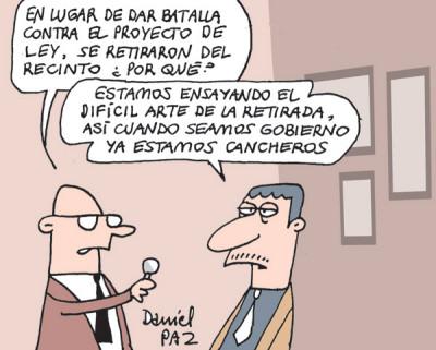 """""""retirada"""" por Daniel Paz"""