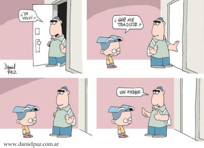 """""""padre"""" por Daniel Paz"""