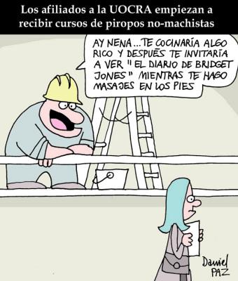 """""""piropos no-machistas"""" `por Daniel Paz"""