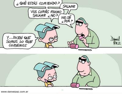 """""""salame"""" por Daniel Paz"""