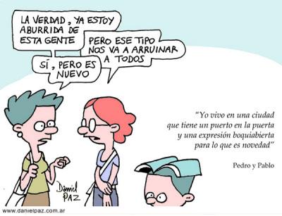 """""""novedad"""" por Daniel Paz"""