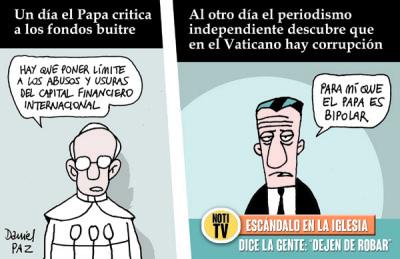 """""""el papa"""" por Daniel Paz"""
