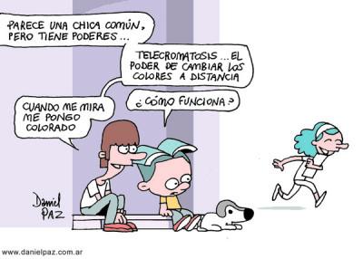"""""""telecromatosis"""" por Daniel Paz"""
