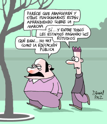 """""""educacion-publica"""" por Daniel Paz"""