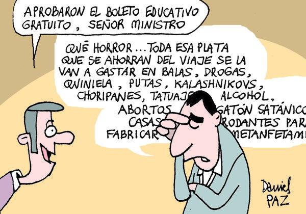 """""""boleto-estudiantil"""" por Daniel Paz"""